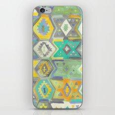 Kilim Me Softly in Turquoise iPhone & iPod Skin