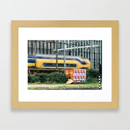 Commuter Train Framed Art Print