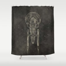 NCC-1701 Shower Curtain