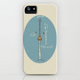 Der Fernsehturm iPhone Case