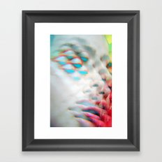 The Vivible Spectrum - Electrified and Multiplied Framed Art Print
