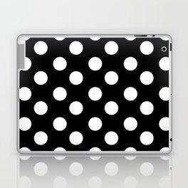 Polka Dot (White & Black Pattern) Laptop & iPad Skin