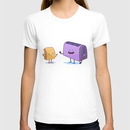 Best friends (Bread and toaster. Character set.) T-shirt