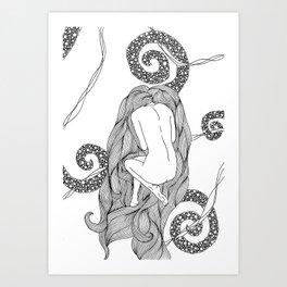 Horror Vacui. Art Print