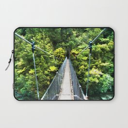 Is this your real path? The Bridge in Wild Rainforest Laptop Sleeve