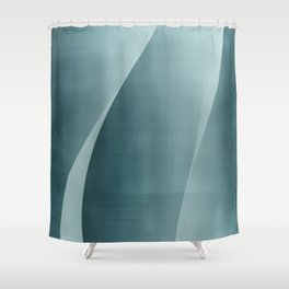 Double Wave Shower Curtain