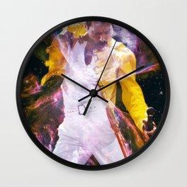 freddie overlay Wall Clock