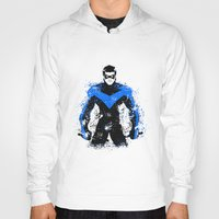 nightwing Hoodies featuring Nightwing by fouur