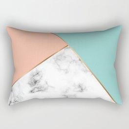 Marble Geometry 056 Rectangular Pillow