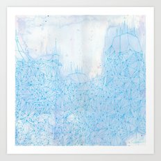 Seventh Raft Art Print