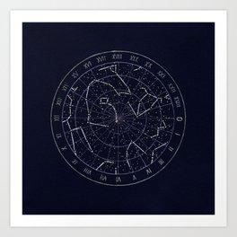 North Polar Sky Art Print