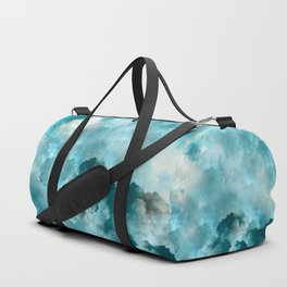 """Cotton clouds blue Heaven"" Duffle Bag"