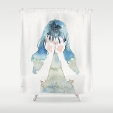 small piece 07 Shower Curtain