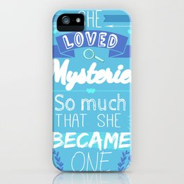 Mystery of Margo iPhone Case
