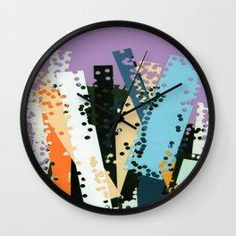 EDIFICIOS Wall Clock