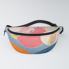 The Ten Largest, Group IV, No.2 by Hilma af Klint Fanny Pack