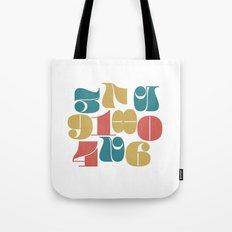 Numerals Tote Bag
