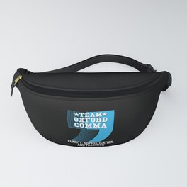 Team Oxford Comma Fanny Pack