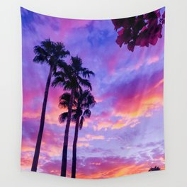 PS Sunset and Bouganvilla Wall Tapestry