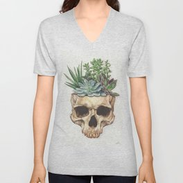 From Death Grows Life Unisex V-Neck