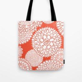 Delightful Doilies - Saffron Tote Bag