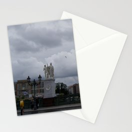 Berlin clouds Stationery Cards