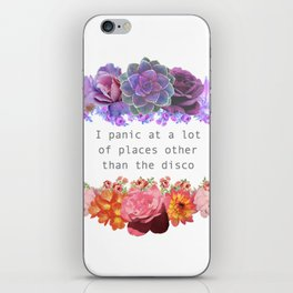 Panic! iPhone Skin