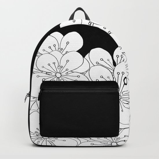Cherry Blossom Boarder Backpack