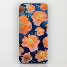 Poppies in Space iPhone & iPod Skin