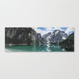 Mountain Lake Panorama // Landscape Photography Canvas Print