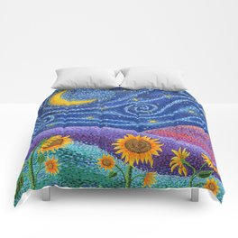 Dream Fields Comforters