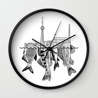 toronto Wall Clocks featuring Toronto by CAB Architects