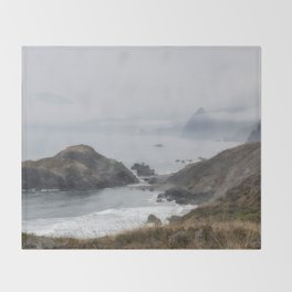 Into the Pale Throw Blanket