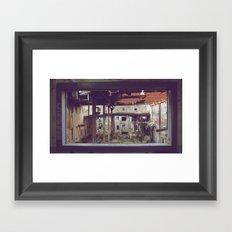 Break Room Framed Art Print