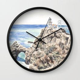 Point Bonita Lighthouse Wall Clock