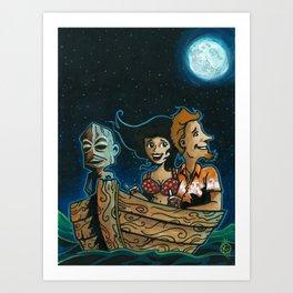 Hukilau Bound! Art Print