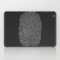 wwe iPad Cases featuring Fingerprint by eARTh