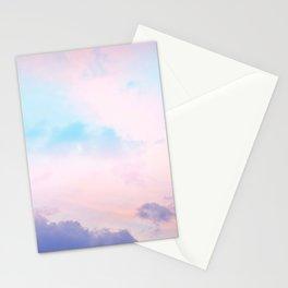 Unicorn Pastel Clouds #5 #decor #art #society6 Stationery Cards