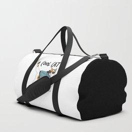 Cool Cat Duffle Bag