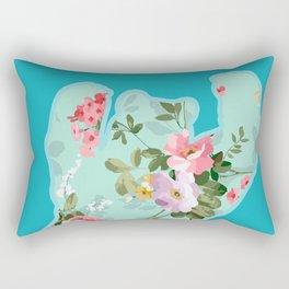 Bear me flowers 2 Rectangular Pillow
