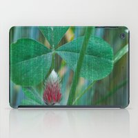 clover iPad Cases featuring Clover by Christine baessler