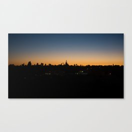 Sunset Portugal Canvas Print