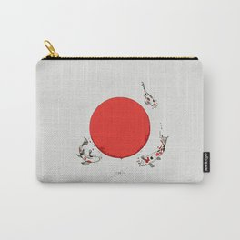 Koi and Sun Carry-All Pouch