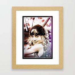 AMANDA ART Framed Art Print