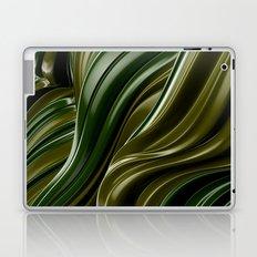 Green Wave Laptop & iPad Skin