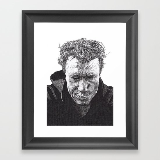 Heath Framed Art Print