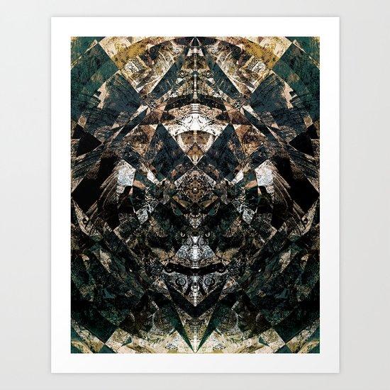 a Deo et Rege Art Print