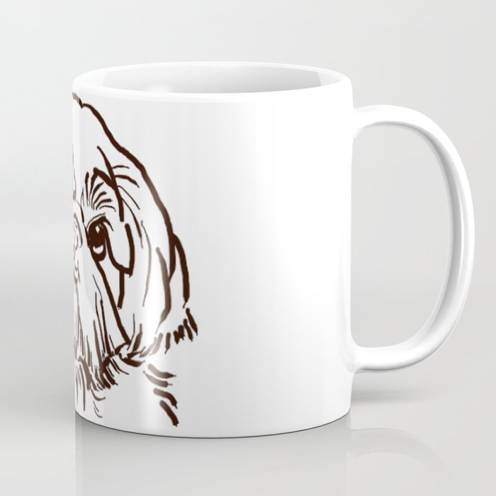 The sweet Shih Tzu dog love of my life! Coffee Mug