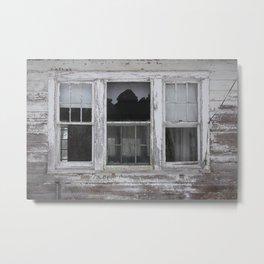 Broken Window Metal Print