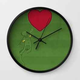 The Love of Cthulhu Wall Clock